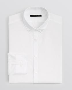 Textured Solid Dress Shirt by John Varvatos USA in The Big Bang Theory