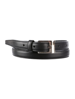 Front Buckle Closure Leather Belt by Christian Dior in She's Funny That Way