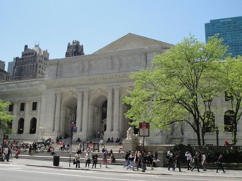 New York Public Library New York City, New York in John Wick