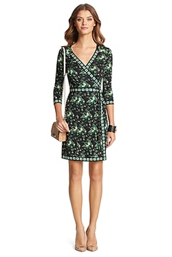 Tallulah Two Silk Jersey Wrap Dress by Diane Von Furstenberg in Jessica Jones