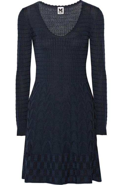 Crochet-Knit Wool-Blend Dress by M Missoni in Quantico - Season 1 Episode 11