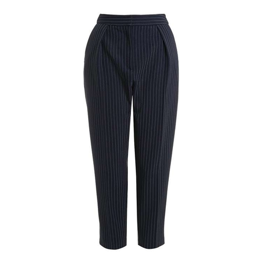 Pinstripe Peg Trouser by Topshop in Pretty Little Liars - Season 7 Episode 4