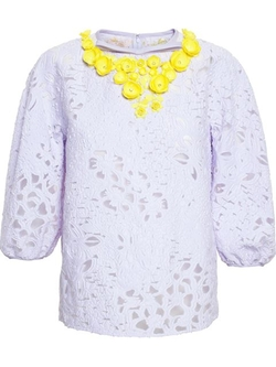 Macramé Lace Top by Giambattista Valli in How To Get Away With Murder