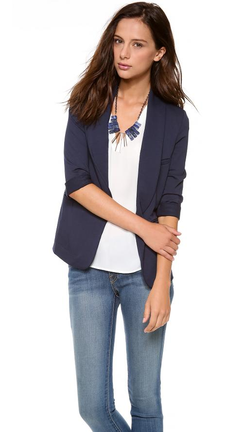 Neville Blazer by Soft Joie in St. Vincent
