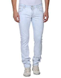Light Wash Denim Pants by Meltin Pot in Dr. No