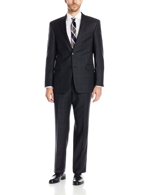 Two Button Plaid Suit by Tommy Hilfiger in She's The Man