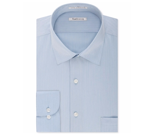 Herringbone Dress Shirt by Van Heusen in La La Land