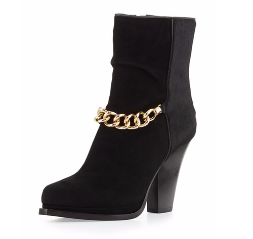 Berlin Chain-Strap Ankle Boots by 3.1 Phillip Lim in Pretty Little Liars - Season 7 Episode 6