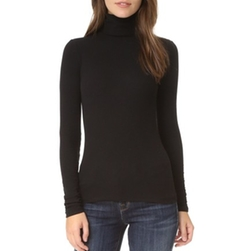 Centro Ribbed Turtleneck Top by J Brand in Keeping Up With The Kardashians