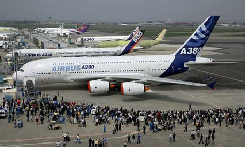 A380 by Airbus Industrie in Godzilla