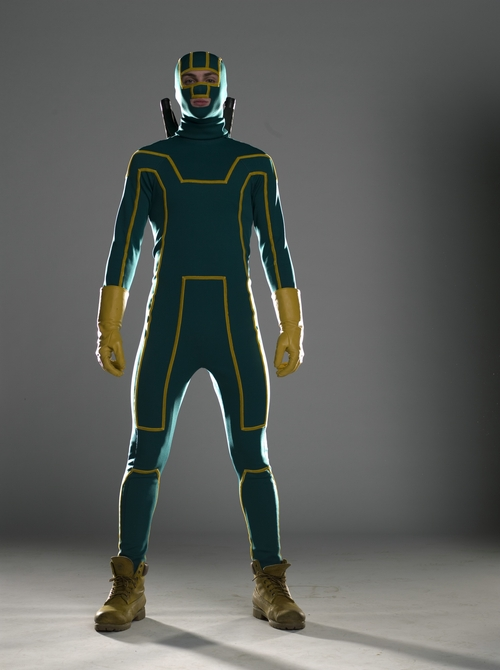 Custom Made Kick-Ass Suit by Sammy Sheldon (Costume Designer) in Kick-Ass