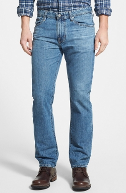 Tailored Straight Leg Jeans by AG in The Visit