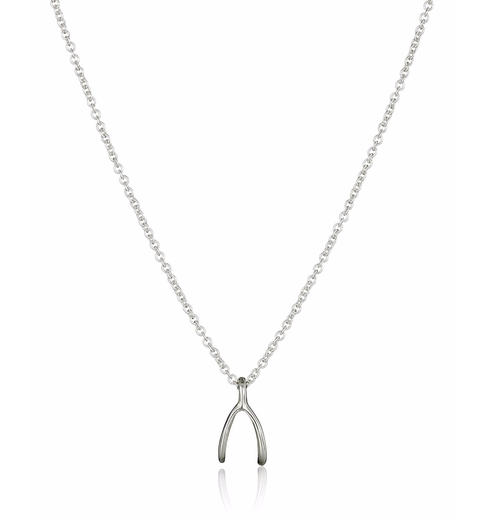 Reminder Dream Sterling Silver Wishbone Pendant Necklace by Dogeared in Pretty Little Liars - Season 7 Episode 6