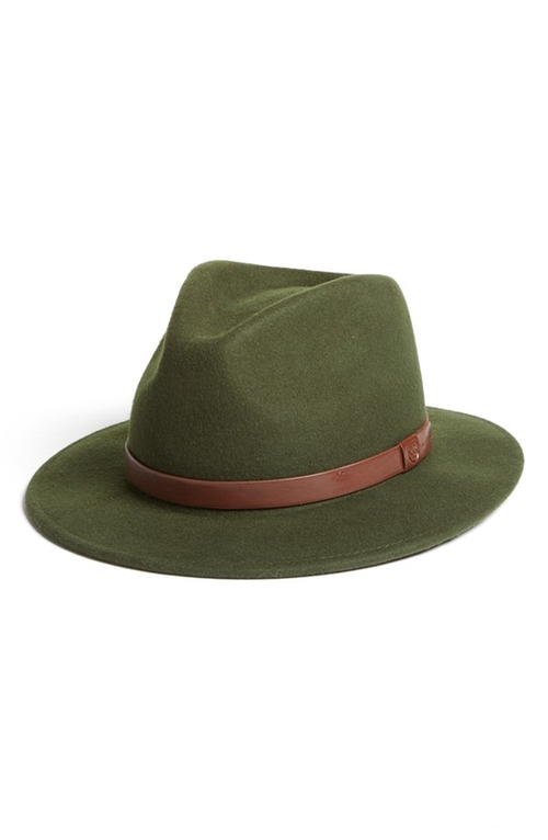 'Messer' Wool Fedora Hat by Brixton in Love the Coopers