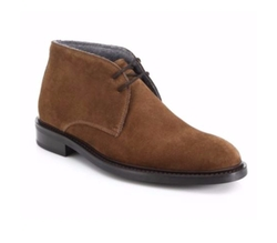Brewer Suede Chukka Boots by To Boot New York in New Girl