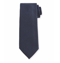 Textured Solid Silk Tie by Tom Ford in Suits