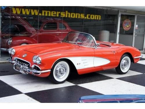 1958 Corvette by Chevrolet in Frank Miller's Sin City: A Dame To Kill For
