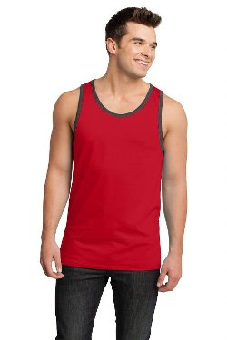 Mens Ringer Tank Top by Buy Cool Shirts in McFarland, USA