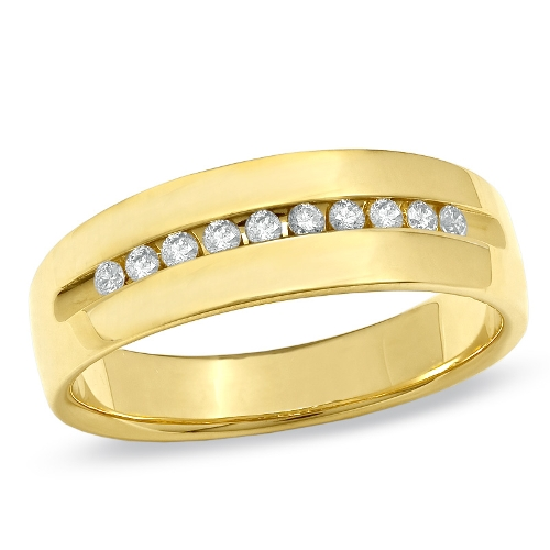 Diamond Wedding Band Ring by Zales in The Hangover