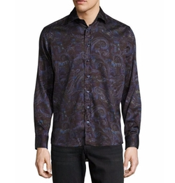 Multi Paisley-Print Sport Shirt by Etro in Unbreakable Kimmy Schmidt