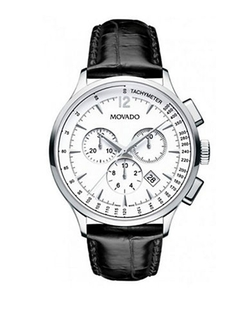 Three- Eye Chronograph Watch by Movado in Our Brand Is Crisis