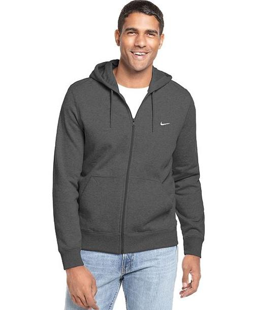 Classic Fleece Full Zip Hoodie by Nike Sweatshirt in The Purge: Anarchy