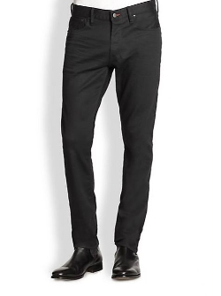 Straight-Fit Panther Stretch Jeans by Ralph Lauren Black Label in Before I Wake