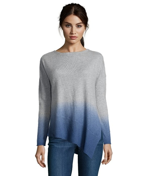 Dip Dye Assymetrical Scoop Sweater by Kokun in Popstar: Never Stop Never Stopping