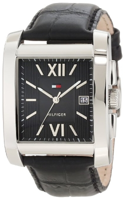 Men's Classic Tank Roman Numeral Dial Watch by Tommy Hilfiger in Fast Five
