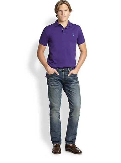 Varick Slim-Fit Wilson-Wash Jeans by Polo Ralph Lauren in If I Stay