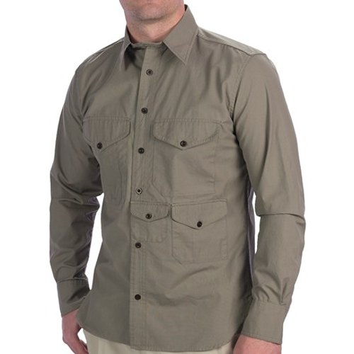 Cover Cloth Long Sleeve Sportshirt by Filson Cruiser Shirt in The Age of Adaline