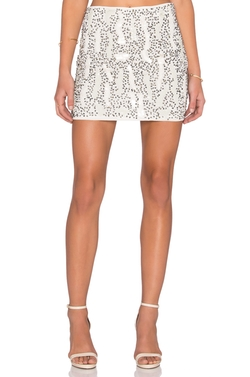 Beaded Mini Skirt  by Raga in Neighbors 2: Sorority Rising
