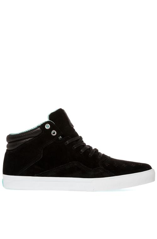 The Folk Mid Sneaker in Black & Diamond Blue by Diamond Supply Co. in Chronicle
