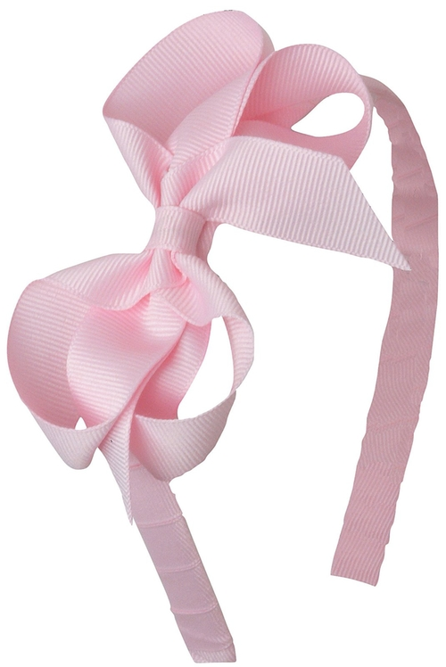 Solid Bow-Headband by Bows Arts in Sex and the City
