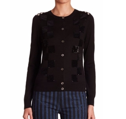 Sequin Checkered Cardigan by Marc Jacobs in Keeping Up With The Kardashians