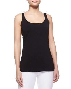 Scoop-Neck Tank Top by Nic+Zoe in Barely Lethal