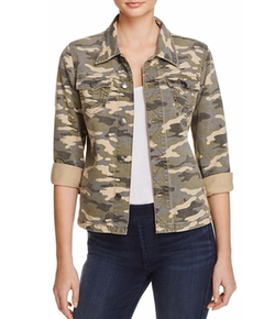 Nora Camo Jacket by True Religion in Pitch Perfect 3