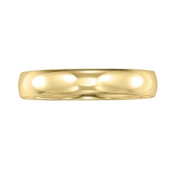 14k Gold Wedding Band Ring by Cherish Always in Black Mass
