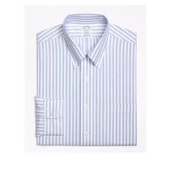 Wide Stripe Dress Shirt by Brooks Brothers in The Boss