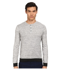 Long Sleeve Henley Sweater by Vince in The Visit