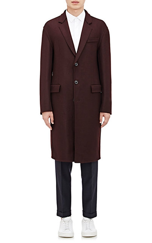 Brushed Twill Overcoat by Wooyoungmi in Victor Frankenstein