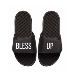 Bless Up Slide Sandals by We The Best in Chelsea