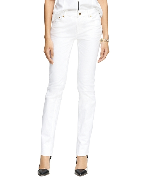 Natalie Fit Five-Pocket Jeans by Brooks Brothers in Magic Mike XXL