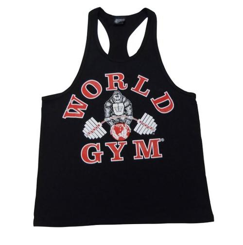 Fat Strap Y Back Tank Top by World Gym in Pain & Gain