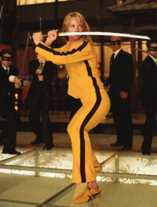 Custom Made Fight Suit by Catherine Marie Thomas (Costume Designer) in Kill Bill: Vol. 2