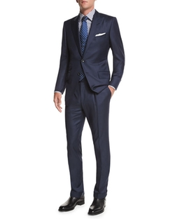 O'Connor Base Sharkskin Suit by Tom Ford in Suits