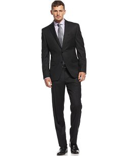 Black Diamond Slim-Fit Suit by Tallia in Taken 3