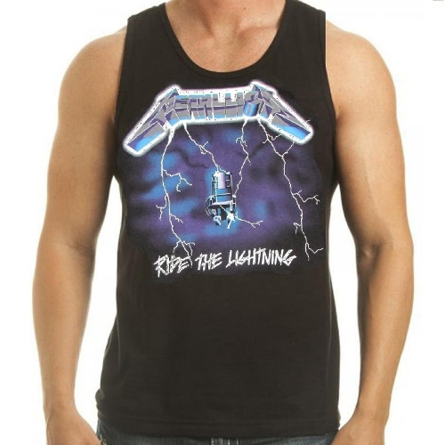 Metallica 'Ride The Lightning' Tank Top by Rock Wares USA in Magic Mike XXL