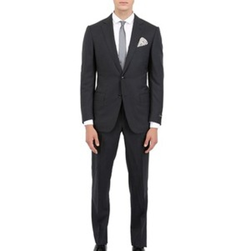 Cool Wool Slim Fit Milano Suit by Ermenegildo Zegna in Suits - Season 5 Episode 2