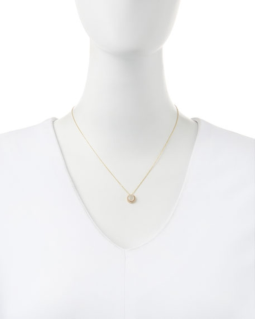 Moonstone & Sapphire Pendant Necklace by Kalan by Suzanne Kalan in Keeping Up with the Joneses